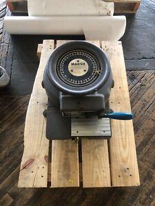 Marsh Model H 1/2 in inline line Stencil Cutter Die Cutting Machine