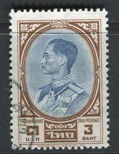 Tailandia; 1961 King Bhumibol problema Fine Used 3b. valor
