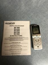 Olympus VN-7000 Digital Voice Recorder LCD Display 2GB Memory TESTED & WORKING