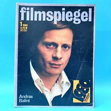 DDR Filmspiegel 1/1980 Jean-Louis Trintignant Solo Sunny Claudia Cardinale D