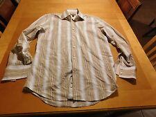 Banana Republic Stripped Dress Shirt 15 Neck 34/35 Sleeve
