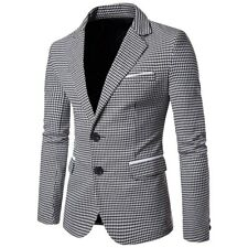 Blazer Suit Hombre Luxury Suit Jacket Slim Casual/Formal Dress Suit for Men
