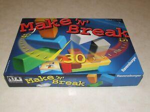 Ravensburger Make 'N'  Break Game - Complete
