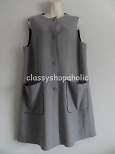 Marks and Spencer Grey Knitted Gilet Size Large  BNWT RRP £55