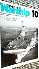 PROFILE WARSHIP #10: HMS ILLUSTRIOUS: AIRCRAFT CARRIER 1939-1956: TECHNICAL HIST