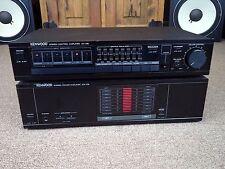 Kenwood KM-106 Stereo Power Amplifier & Kenwood KC-106 Preamplifier with Tuner