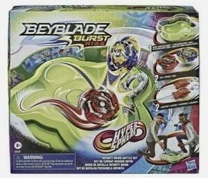 Beyblade Burst Rise Hypersphere Infinity Brink Battle Set NEW IN BOX!