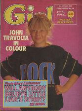Girl Magazine 15 October 1983   John Travolta