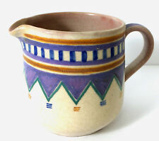 1920's hand painted Poole Pottery stoneware jug in the Portugese Pattern?