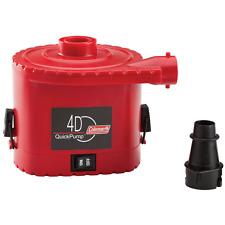 Coleman 4D Universal Quick Pump for Air Mattress, Bed, AC, Outlet, 120 V, New.