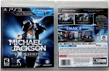 "JACKSON M *BRAND NEW* ""MICHAEL JACKSON EXPERIENCE"" 2011 US PS3 VIDEO GAME"