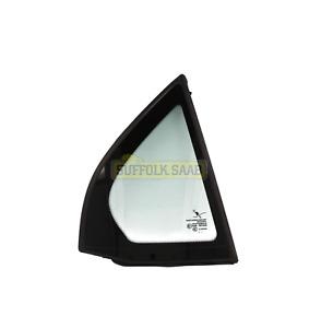 SAAB 93 9-3 9440 4DR 03-12MY RIGHT REAR 1/4 QUARTER LIGHT GLASS 12804490 SUFFOLK
