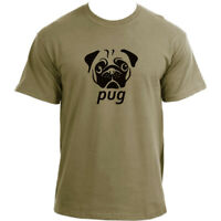 Pug T-Shirt I Novelty Cute Dog Pug Lover T Shirt For Men I Pug Dog Tshirt