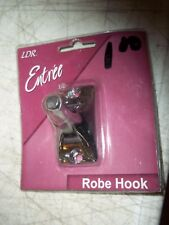 "Bnip Nos Ldr Entree Chrome Robe Hook 0611661 11/4""x21/4"" Base Bath Towel Kitchen"