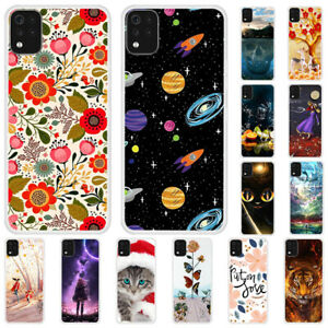 For LG Velvet Stylo 6 K42 K51 Slim Painted Soft Silicone Rubber TPU Case Cover