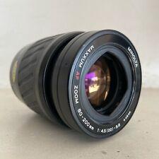 Minolta Maxxum AF ZOOM 80-200mm f4.5-5.6 Lens #20343038