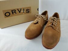 ORVIS CLASSIC MENS SZ. 12.5 D DIRTY BUCKS SUEDE SHOES - NEW & FREE SHIP