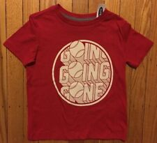 Nwt Boy's Old Navy Red Baseball Shirt - Sizes Xs 5, M 8