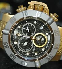Invicta Men's Rare Subaqua Swiss Chronograph Black Dial Gray Poly Watch 20159