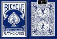 CARTE DA GIOCO BICYCLE REVERSED BLU ,poker size