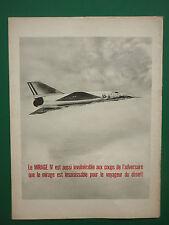 6/1964 PUB AVIONS MARCEL DASSAULT MIRAGE IV FAS ARMEE DE L'AIR SNECMA ATAR AD