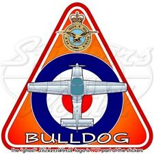 Scottish Aviation BULLDOG T.1 RAF Reale Aeronautica Militare Britannica Adesivo