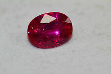 RED DIAMOND RUBY PIEGON BLOOD RED UNHEAT OVAL 3CTS EXOTIC