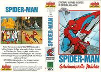 [VHS] Spider-Man - Geheimnisvolle Mächte  (USA 1986)
