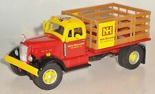 NEW HOLLAND WHITE WC22 STAKEBED SPECCAST 1/50 DIECAST
