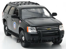 JADA 1:24 2010 CHEVY TAHOE CIA NEW DIECAST MODEL POLICE CAR BLACK