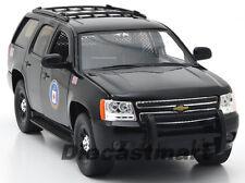 JADA 1:24 2010 CHEVY TAHOE CIA NEW DIECAST MODEL POLICE CAR BLACK