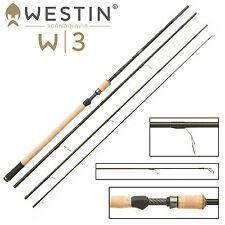 Westin W3 Ultralight Spin M 390cm 7-30g - Angelrute für Forellen, Spirolinorute