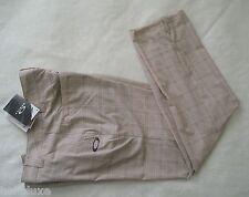 nwt~Oakley TELFAIR PLAID Pant Golf Ohydrolix UV Protection Trousers~Men sz 33/34