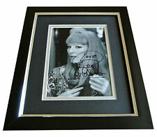 Petula Clark SIGNED 10x8 FRAMED Photo Autograph Display Music Memorabilia & COA