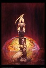 ~~ FRANK FRAZETTA ~ THE BRAIN  24X36 POSTER ~~