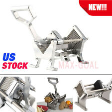 French Fry Potato Fruit Vegetable Cutter Slicer Commercial Quality W/ 3 Blades@W