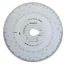 Dischi tachigrafo 125 Km/h  5 Confezioni da 100pz.