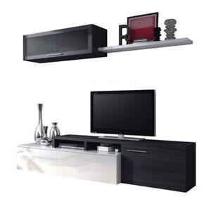 Mueble de comedor salon, color Gris Ceniza, Nexus