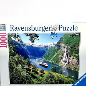 Ravensburger 1000 Piece Jigsaw Puzzle Norwegian Fjord 158041 Premium Soft Click