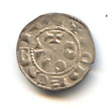 COMTÉ DE RODEZ HUGUES II & HUGUES III (1156-1196) DENIER