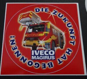 Werbe-Aufkleber IVECO MAGIRUS Octopus Feuerwehr LKW Nutzfahrzeuge