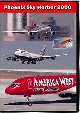 Phoenix Sky Harbor Airport 2000 DVD NEW Highball PHX Southwest hub