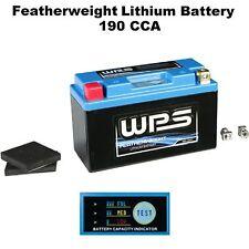 Featherweight Lithium Ion Battery 190 CCA Daytona 675R Street Bike Motorcyle