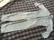 Bulwark FR CNC2 Classic Coverall Nomex Fire Protection Tan size 46 RG 100% Nomex