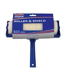"""PAINT ROLLER con 9 """"Shield Guard per parete soffitto EMULSIONE PITTURA"""