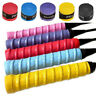 10Pc Elastic Anti-slip Over Grip Tape Tennis Badminton Squash Racquet Handle Lot