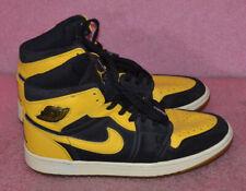 Nike Air Jordan 1 Retro  Love Black Yellow Shoes 136085~072 Size 8.5
