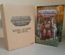 2019 Super7 MOTU Classics William Stout Rebel Leader He-Man Action Figure New