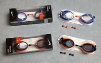 Genuine Nike Swimming Goggles Remora Blue Orange Adults Competition