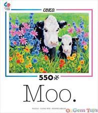 Moo Pastures Edge Ceaco Jigsaw Puzzle  550 Piece